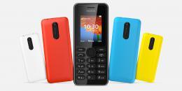 Nokia 108 DS Black Dual Sim