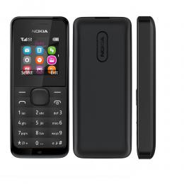 Nokia 105 DS Black Dual Sim