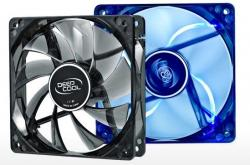 DeepCool WINDBLADE120 120x120x25mm ventilator BLUE LED hydro bearing 1300rpm 53CFM 26dBa