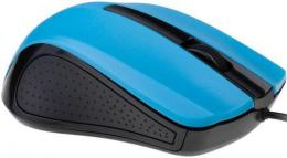 MUS-101-B Gembird Opticki mis 1200Dpi black blue USB