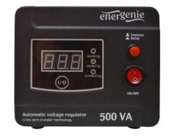 EG-AVR-D500-01 Gembird Automatic voltage regulator and stabilizer Digital Series, 500VA