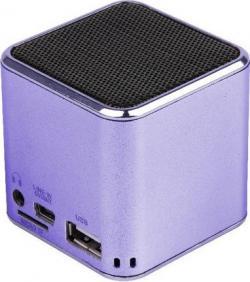 SPK-108-V Gembird  USB zvucnik 3W sa punjivom lithium baterijom + microSD reader/MP3 + USB-Purple