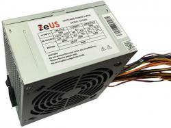 ZEUS ZUS-600 NAPAJANJE 600W 1x 20+4pin, 1x 4pin, 1x IDE, 3x S-ATA, 1x PCI-E 6pin 120mm