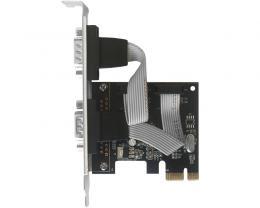 JAVTEC PCI Express kontroler 2xSerial