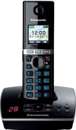 PANASONIC telefon KX-TG8061FXB crni sa sekretaricom
