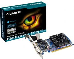 GIGABYTE nVidia GeForce 210 1GB 64bit GV-N210D3-1GI rev.6.0