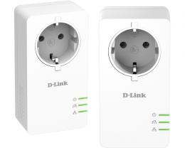 D-LINK DHP-P601AV PowerLine AV2 1000 Passthrough mrežni starter kit