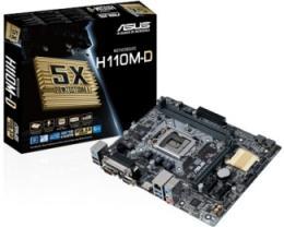 Asus Intel MB H110M-D 1151