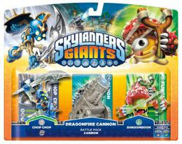 Skylanders GIANTS Battle Pack 1 (Chop Chop + Shroomboom + Cannon Piece)