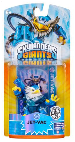 Skylanders G Core Light Character Pack - Jet-Vac