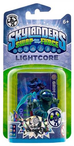 Skylanders SWAP Force Lightcore Grim Creeper