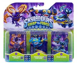 Skylanders SWAP Force Magic Triple Pack (Mega Ram Spyro + Super Gulp Pop Fiz + Star Strike)