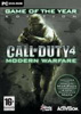 PC Call of Duty 4 Modern Warfare Game Of The Year