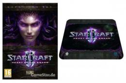 PC Starcraft 2 Heart of the Swarm + SteelSeries QcK Starcraft 2 HotS Logo Edition