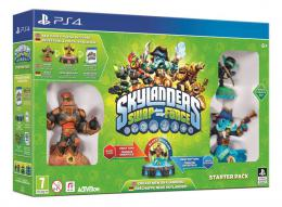 PS4 Skylanders SWAP Force Starter Pack (Game, Portal, Stealth Elf, Blast Zone, Wash Buckler)