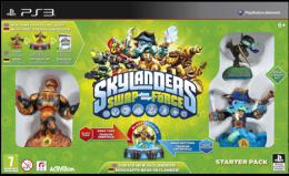 PS3 Skylanders SWAP Force Starter Pack (Game, Portal, Stealth Elf, Blast Zone, Wash Buckler)
