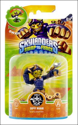 Skylanders SWAP Force Shapeshifter Spy Rise