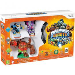Wii Skylanders GIANTS Starter Pack (Game + Portal of Power + Jet-Vac + Cynder + Tree Rex)