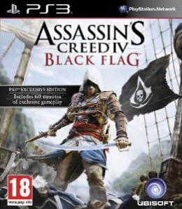 PS3 Assassins Creed 4 Black Flag D1 Edition