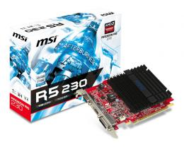 MSI AMD Radeon R5 230 1GB 64bit R5 230 1GD3H