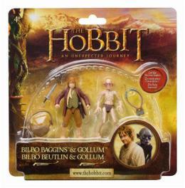 2 figure (Bilbo&Gollum, Kili&Fili, Dwalin&Balin, Legolas&Tauriel)