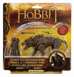 2 figure Hobit - Ork na vargu, 10 cm
