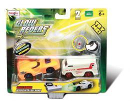Igr. Glow Rider- 2 met. autića-svetle u mraku, 7 cm