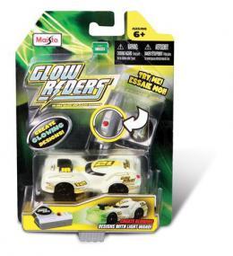 Igr. Glow Rider - metalni automobil koji svetli u mraku 7cm