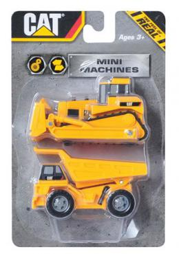 Građevinske mašine CAT Mini Machine 7 cm, 21 SORTO