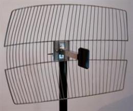 Antena Grid 2.4GHz 20dBi RPSMA sa koaksijalnim kablom 9m