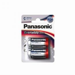 PANASONIC baterije LR14EPS2BP- 2×C  Alkalne Everyday Power