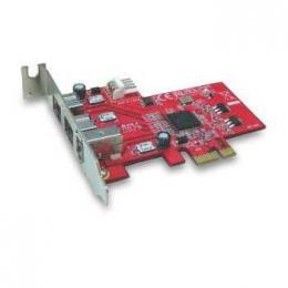 Kontroler Lycom PCIe x1 na FireWire 1394b & 1394a combo 3 port
