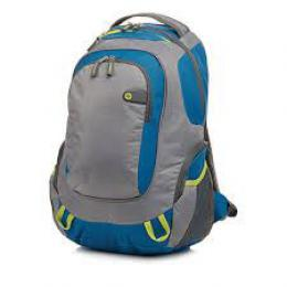 HP ACC Case 15,6 Backpack Sport GreyBlue, F4F29AA