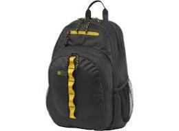HP ACC Case Backpack Sport (BlackYellow) 15.6, F3W17AA