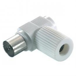 Adapter Coax. socket 90 Vv
