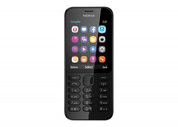 Nokia 222 DS Black Dual Sim