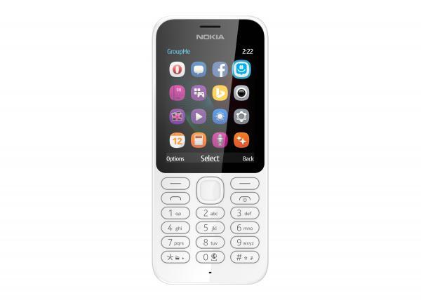 Nokia 222 DS White Dual Sim