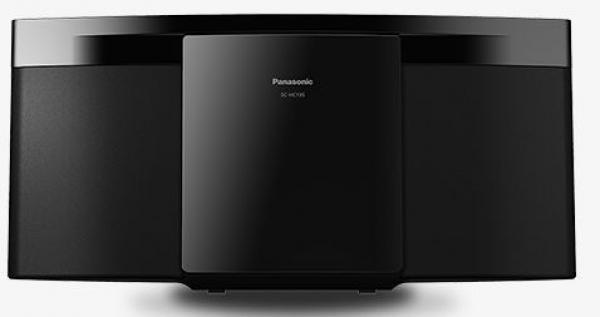 PANASONIC CDUSB Micro System SC-HC195EG-W, slim, beli - mikro sistem