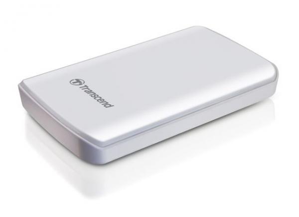 Eksterni hard disk1TB StoreJet 25D3 White Transcend