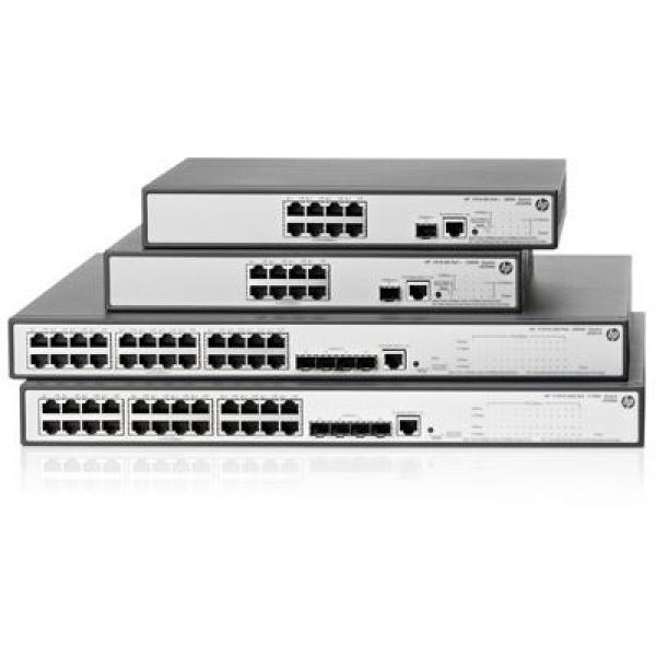 NET HP 1910-24-PoE+ Switch, JG539A