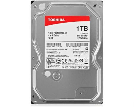 TOSHIBA 1TB 3.5 SATA III 64MB 7.200rpm HDWD110UZSVA P300 series bulk