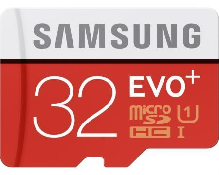 SAMSUNG EVO PLUS UHS-I MicroSDHC 32GB class 10 + Adapter MB-MC32DA