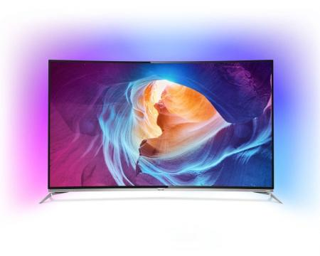 PHILIPS 65 65PUS8700/12 Smart 3D LED 4K Curved UHD Android Ambilight digital LCD TV