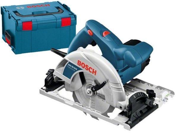Ručna kružna testera - cirkular Bosch GKS 55 u L-Boxxu