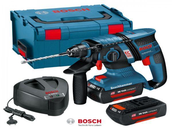 Akumulatorska udarna bušilica Bosch GBH 36 V - EC Compact 1.3 Ah