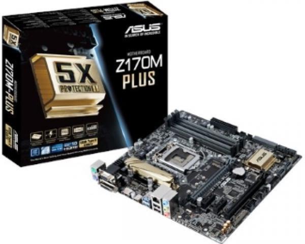 Asus Intel MB Z170M-PLUS 1151