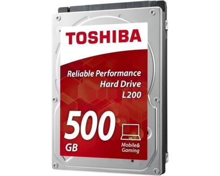 TOSHIBA 500GB 2.5 SATA III 8MB 5.400rpm HDWJ105UZSVA L200 series