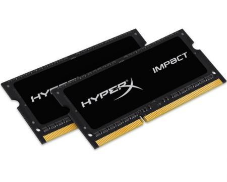 KINGSTON SODIMM DDR3 16GB (2x8GB kit) 1600MHz HX316LS9IBK2/16 HyperX Impact
