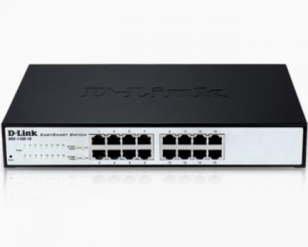 D-LINK DGS-1100-16 16port EasySmart switch