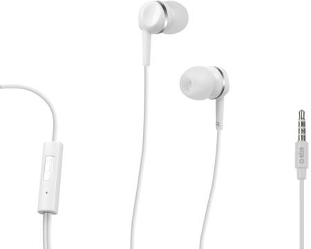SBS Slušalice sa mikrofonom za mobilne uređaje StudioMix 25 bele TEINEARW